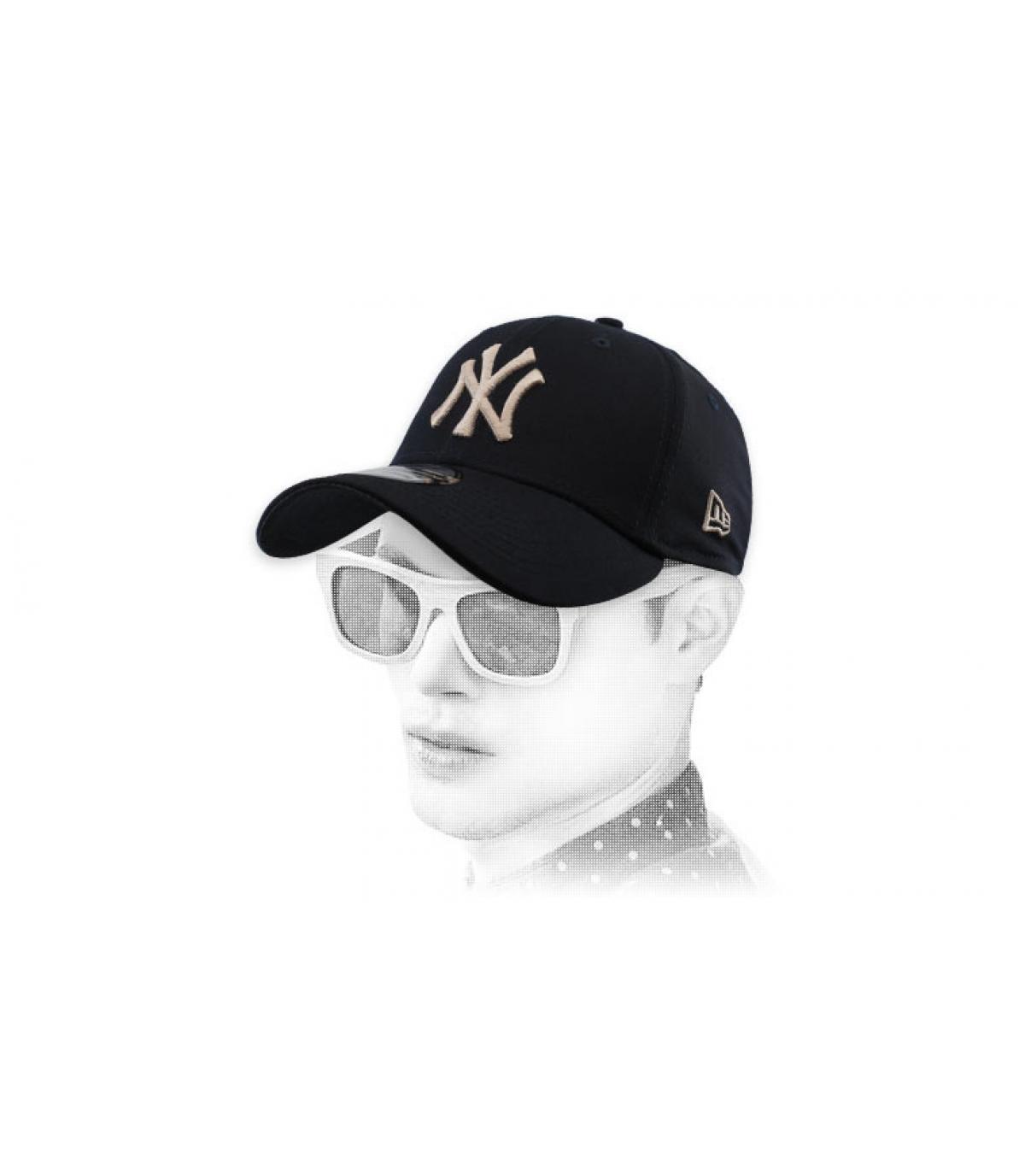 NY elasticizzato nero