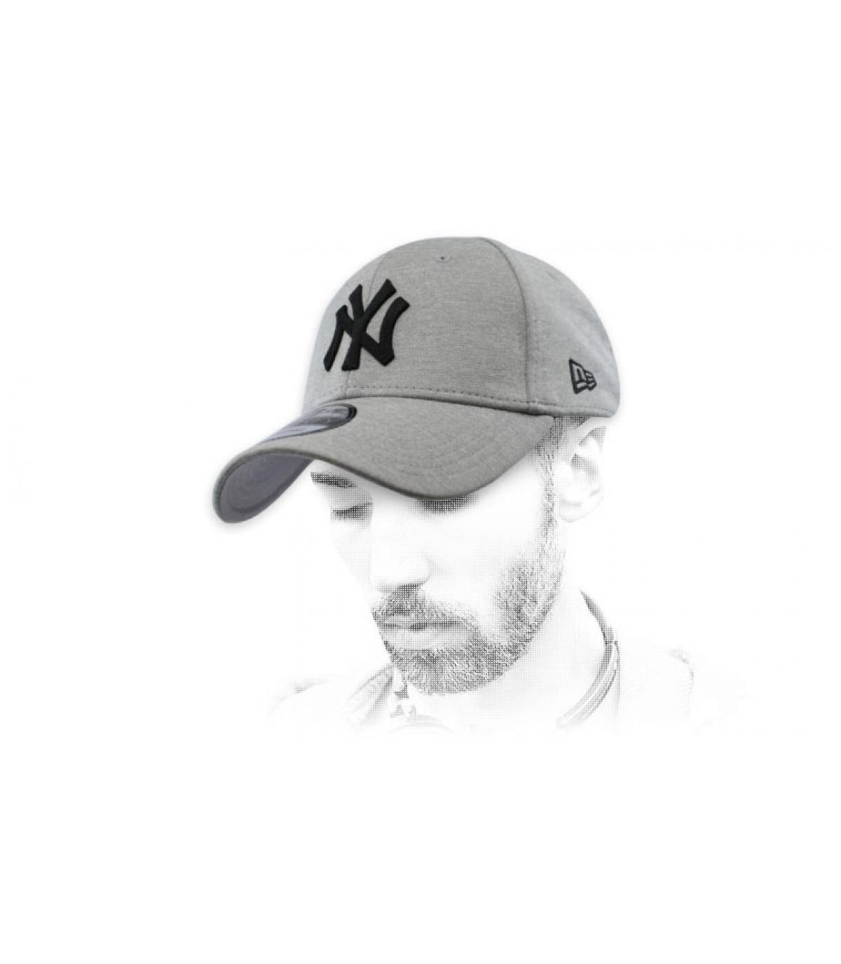 cappuccio NY nero grigio