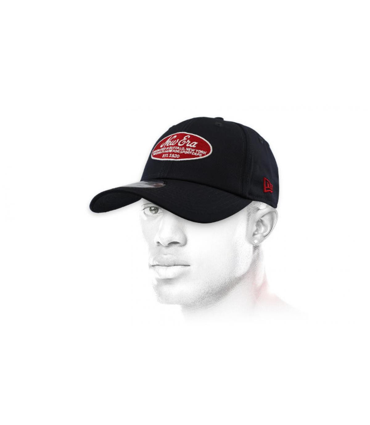berretto New Era blu rosso