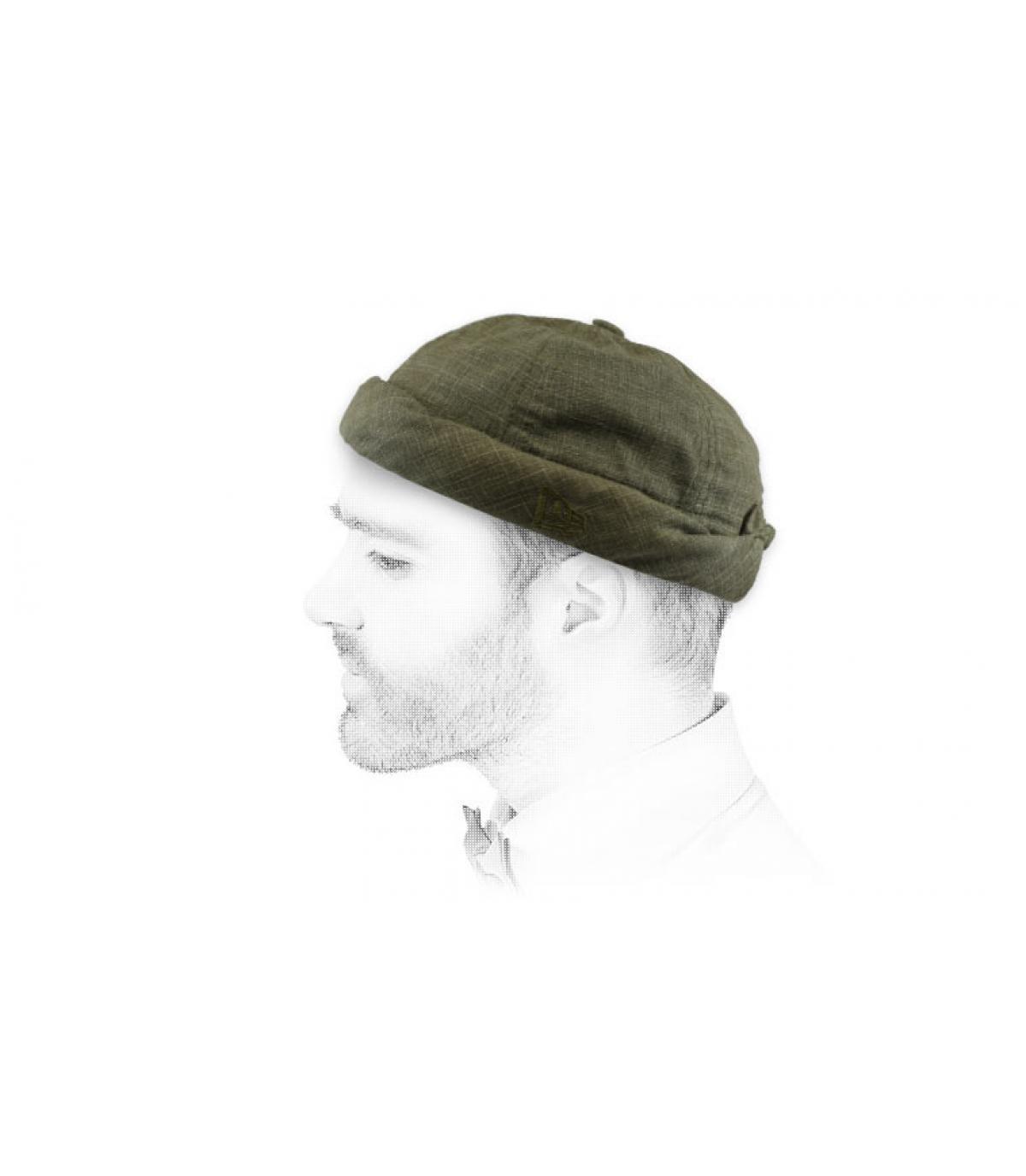 cappello docker verde oliva