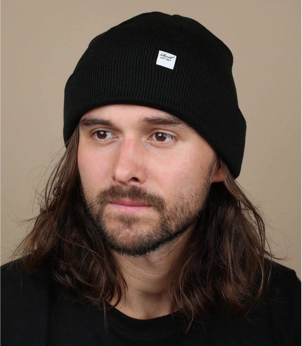 cappello reversibile nero Reell