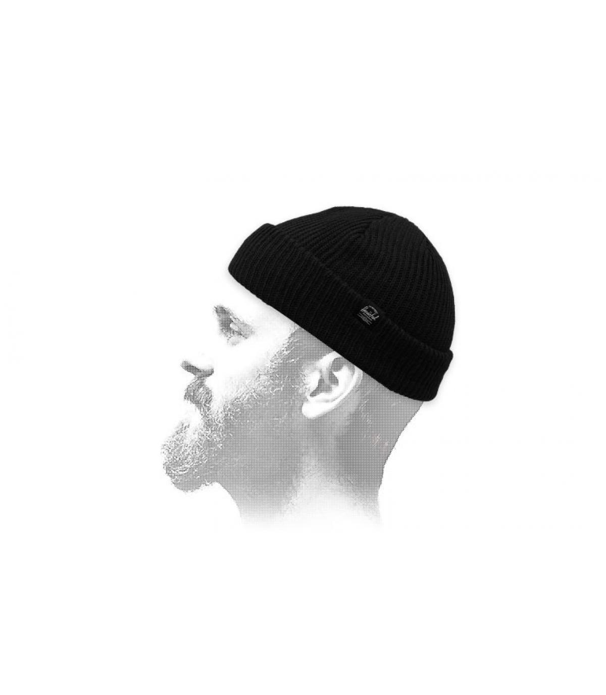 cappello da marinaio nero Herschel