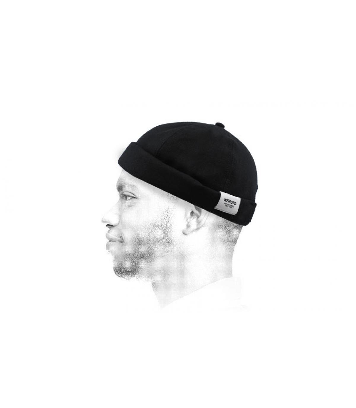 cappello docker nero Wemoto