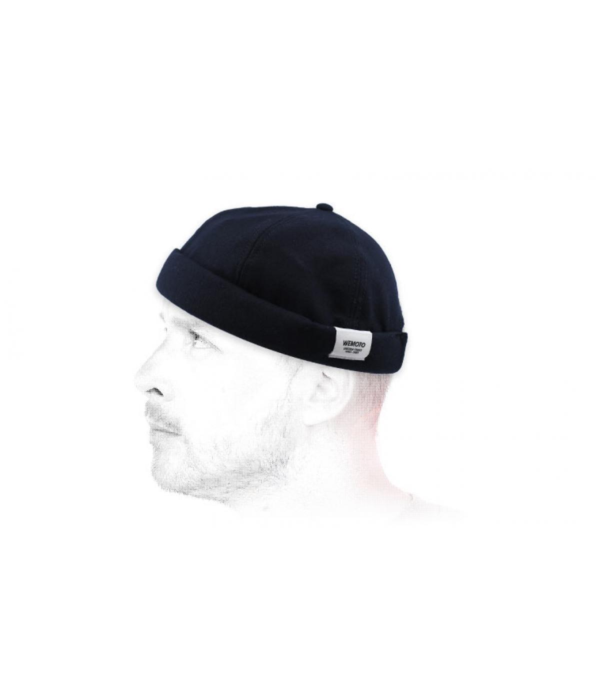 Cappello docker marino Wemoto