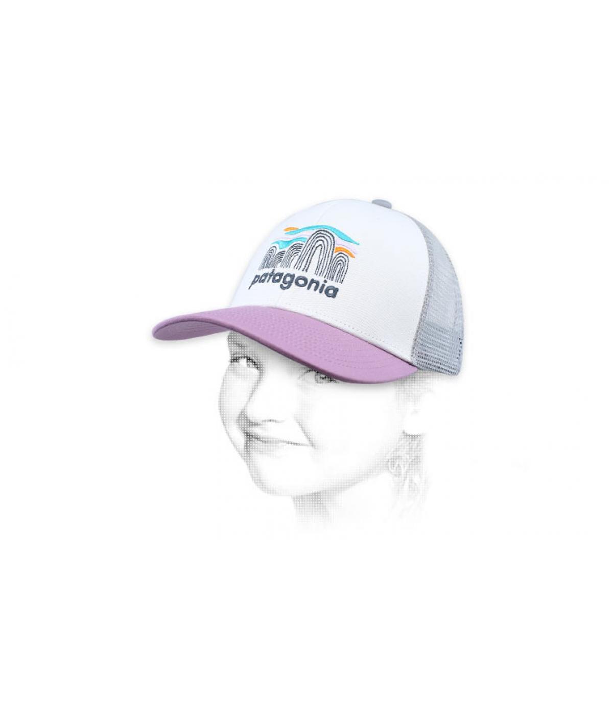 camionista bambino rosa Patagonia