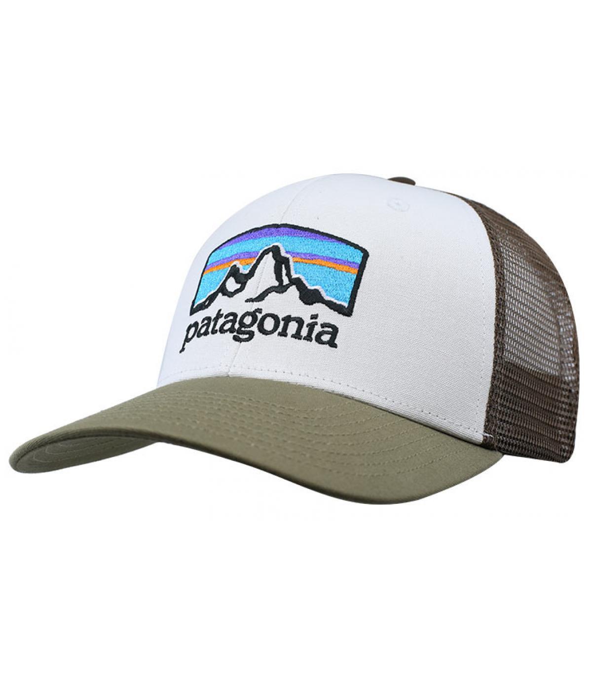 camionista bianco verde Patagonia