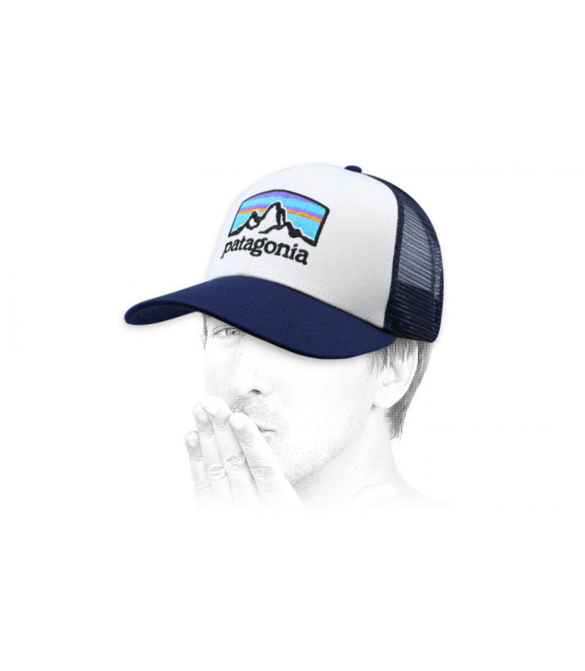 camionista blu Fitz Roy Patagonia