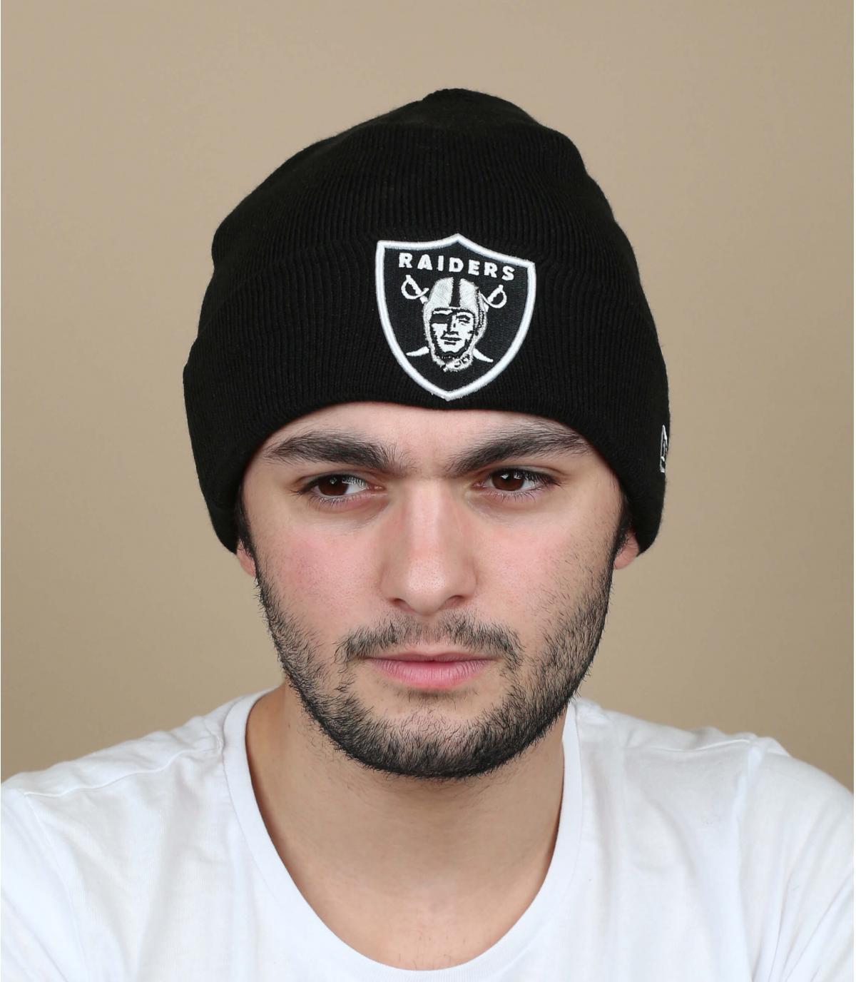 cofano Raiders nero