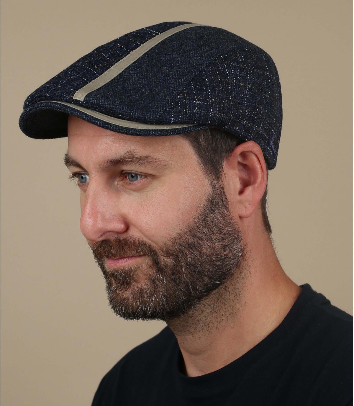berretto di lana blu Herman