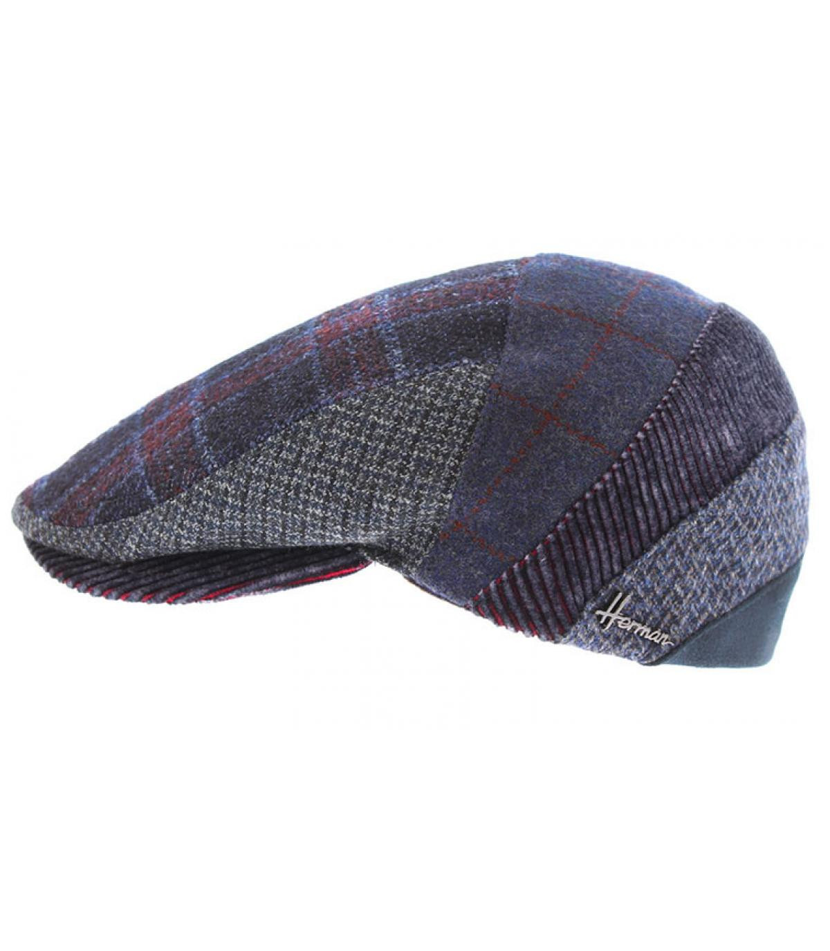 berretto di lana multicolore