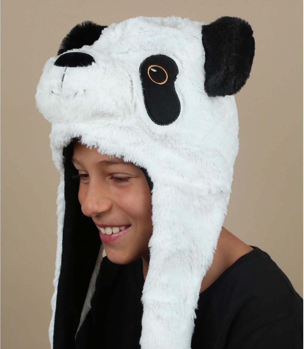 cappello da panda bambino