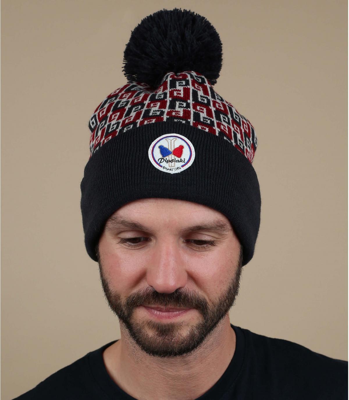 cappello blu Pipolaki