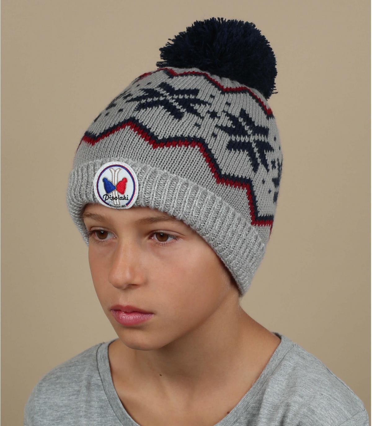 modello grigio cappello bambino