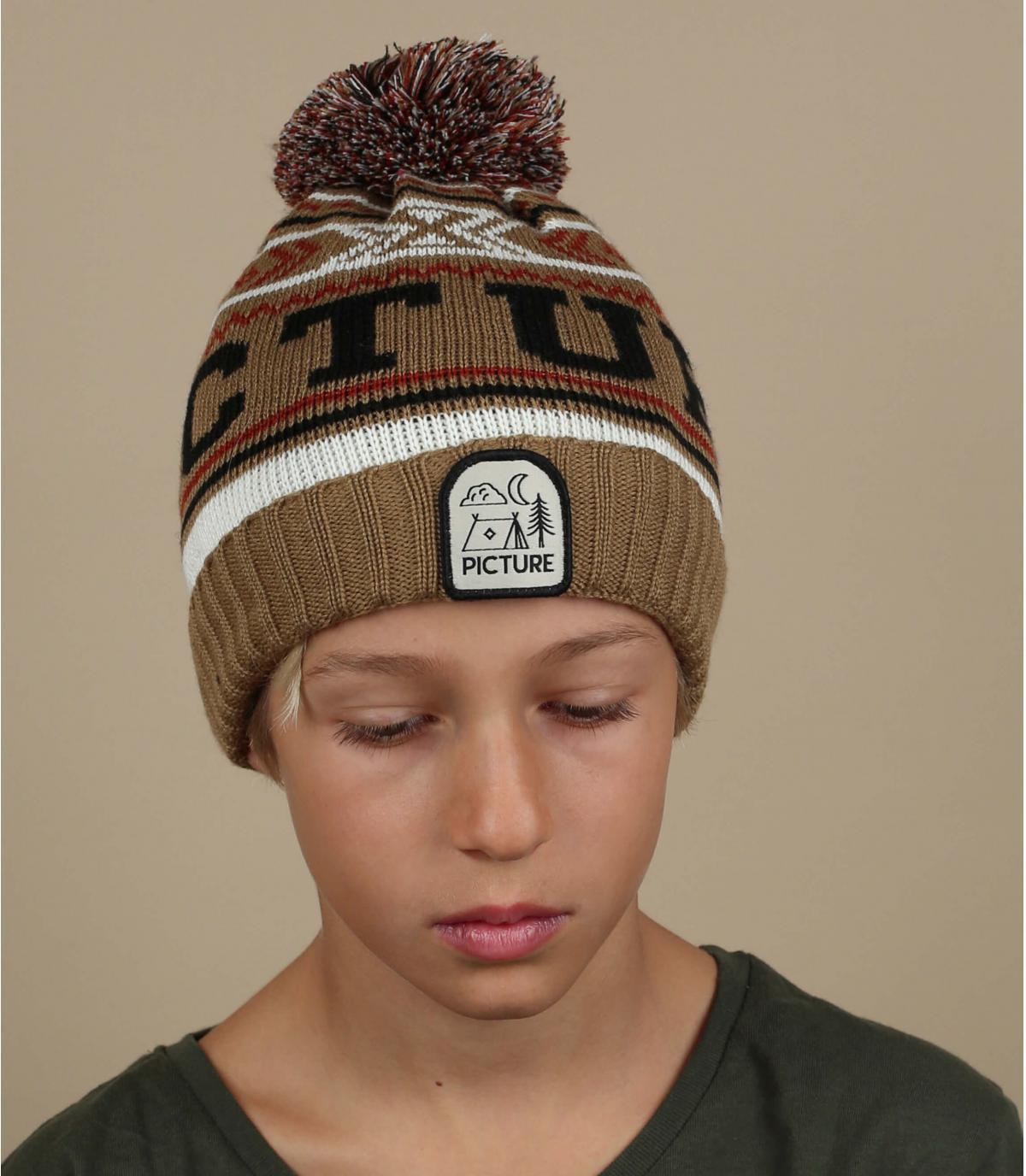 cappello beige per bambini Picture