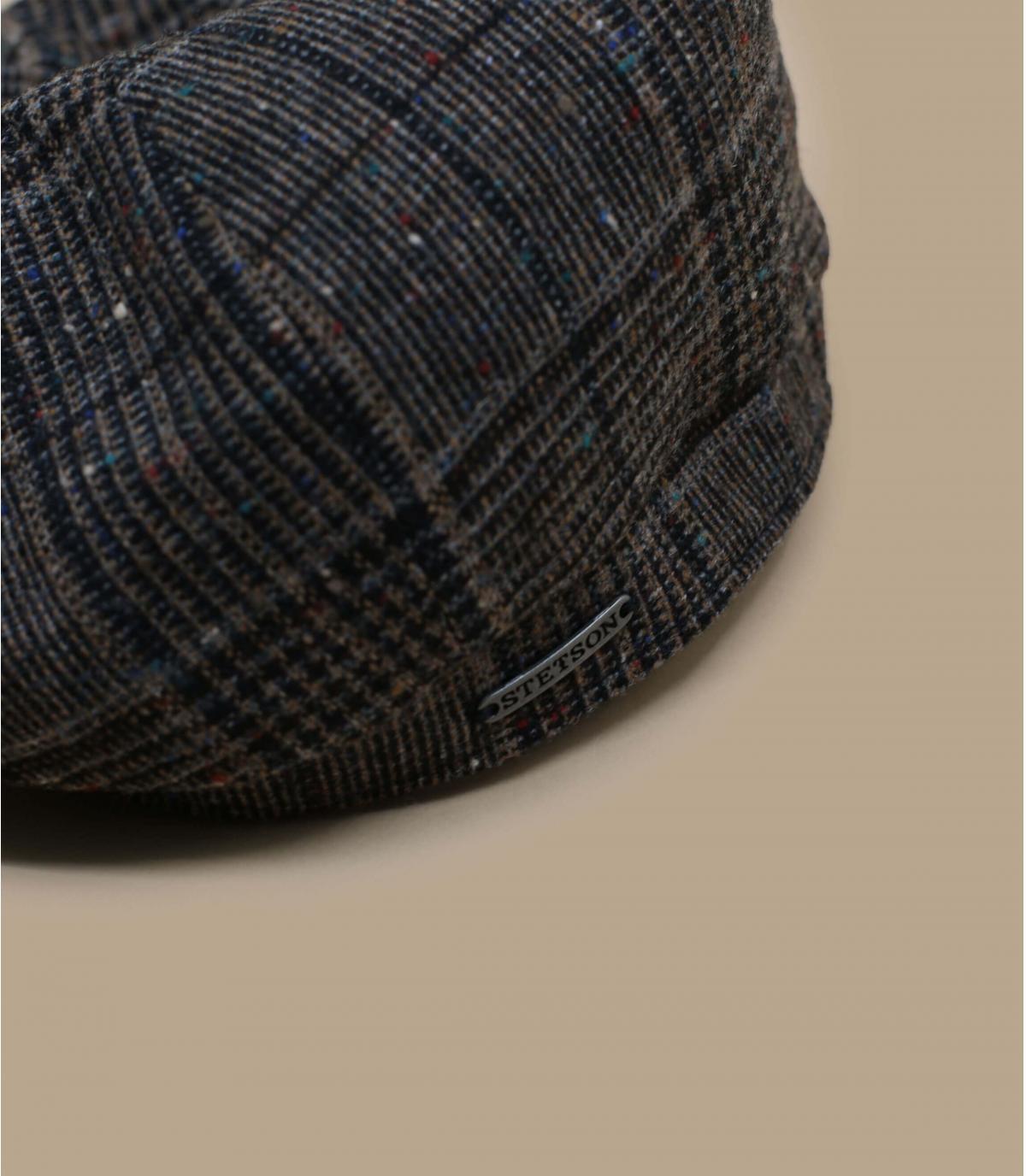 Dettagli Hatteras Wool brown check - image 2