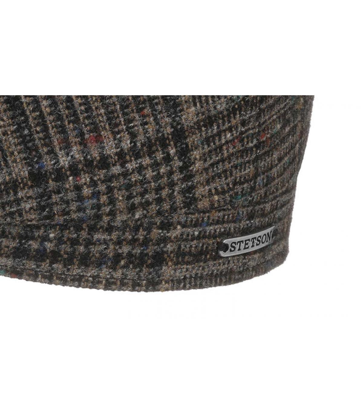 Dettagli Hatteras Wool brown check - image 3