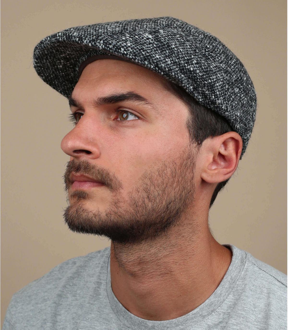 berretto di lana grigia Stetson