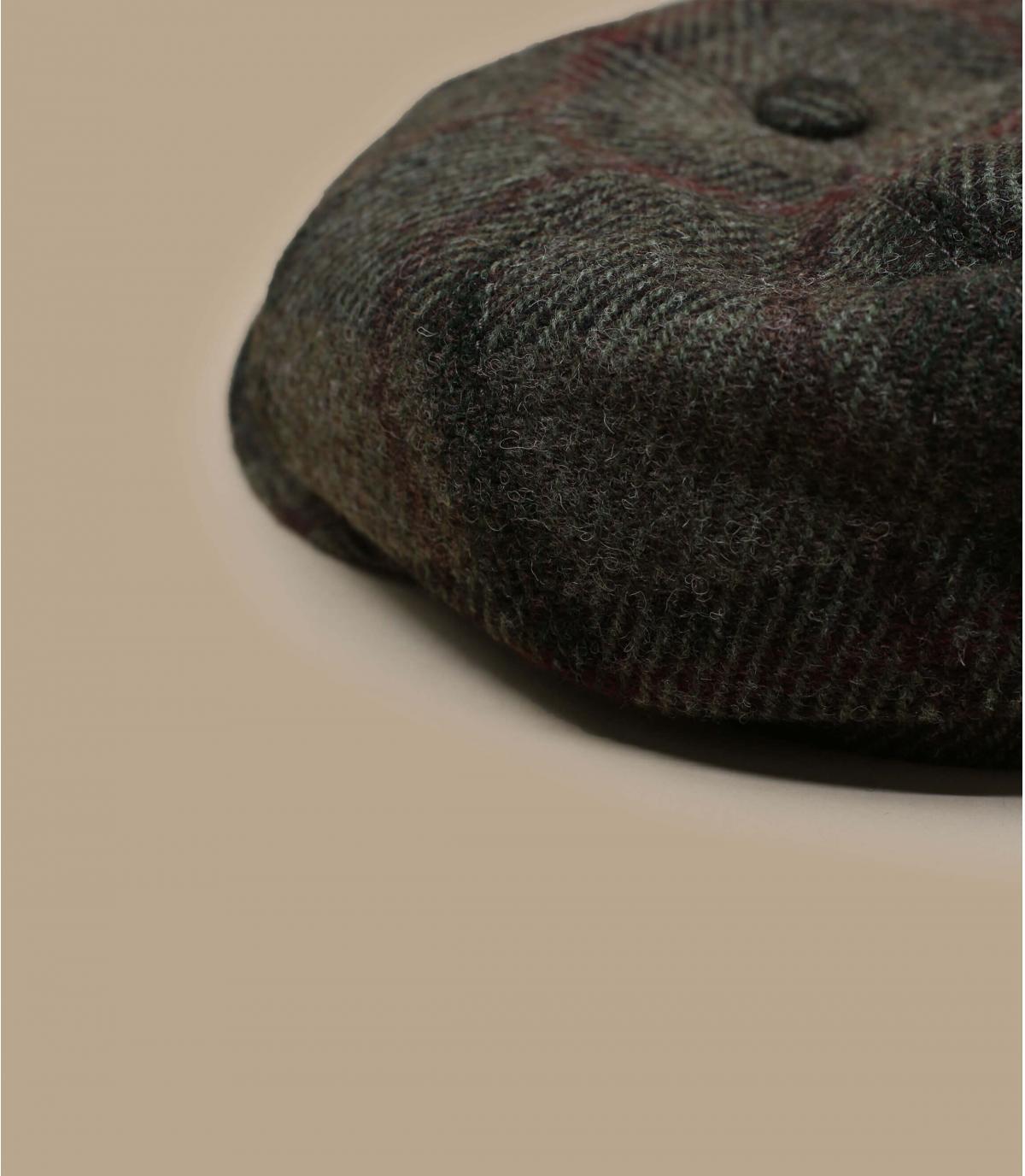 Dettagli Hatteras Virgin Wool check beige olive - image 2