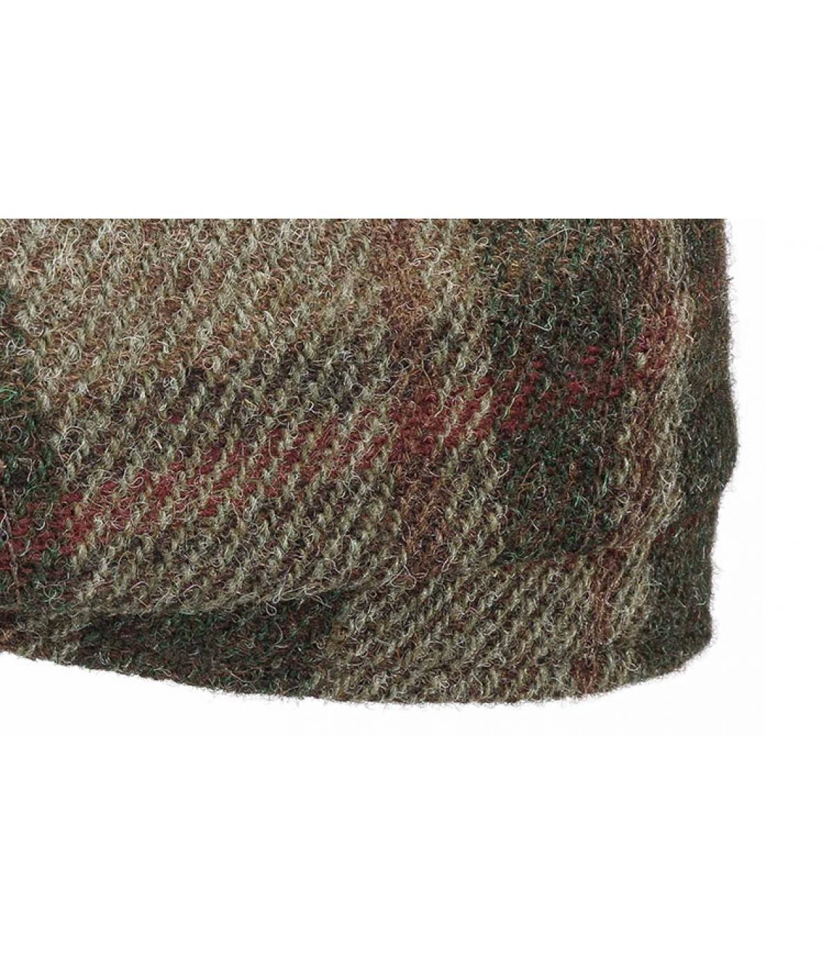 Dettagli Hatteras Virgin Wool check beige olive - image 3
