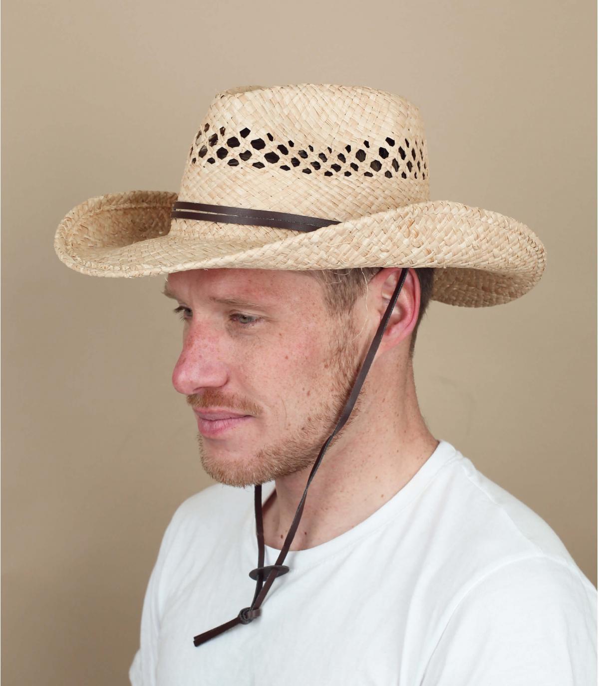 Cappello Cowboys paglia Stetson