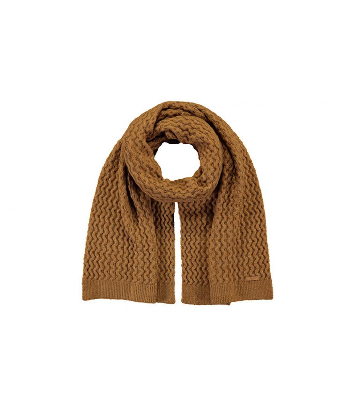 maglia sciarpa beige