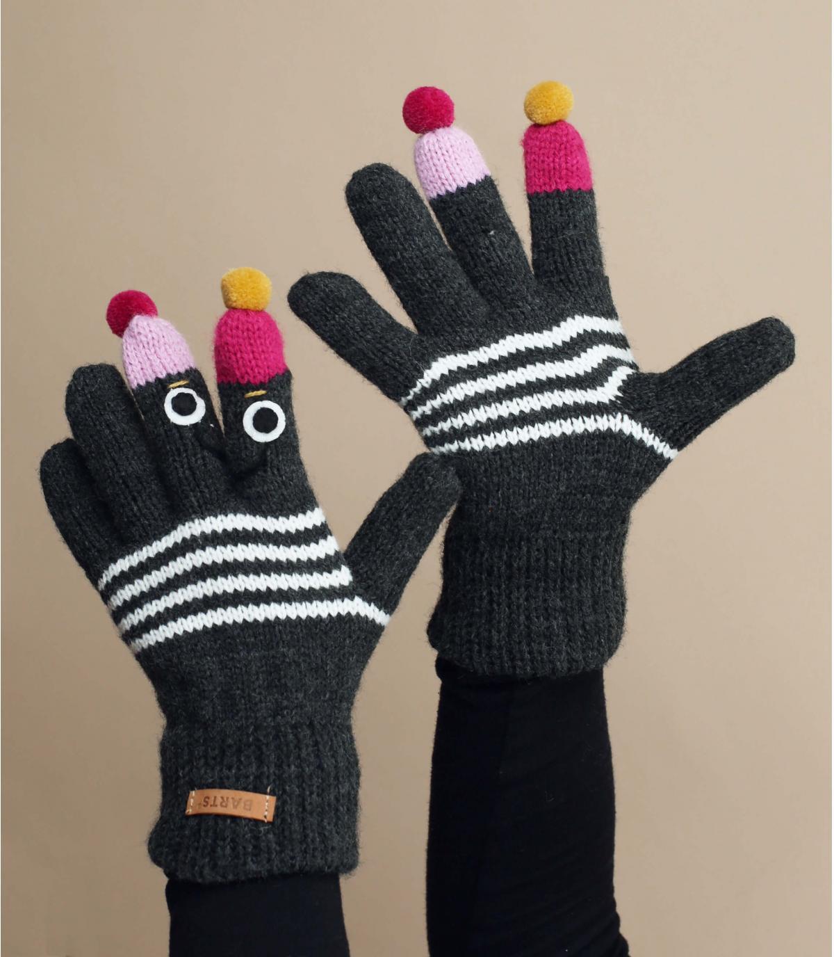 guanti da bambino fantoccio