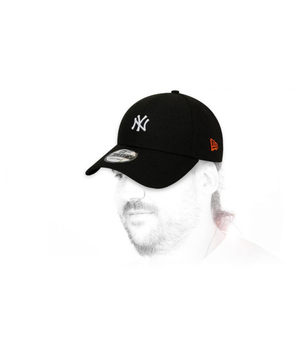 cappellino NY nero Giappone