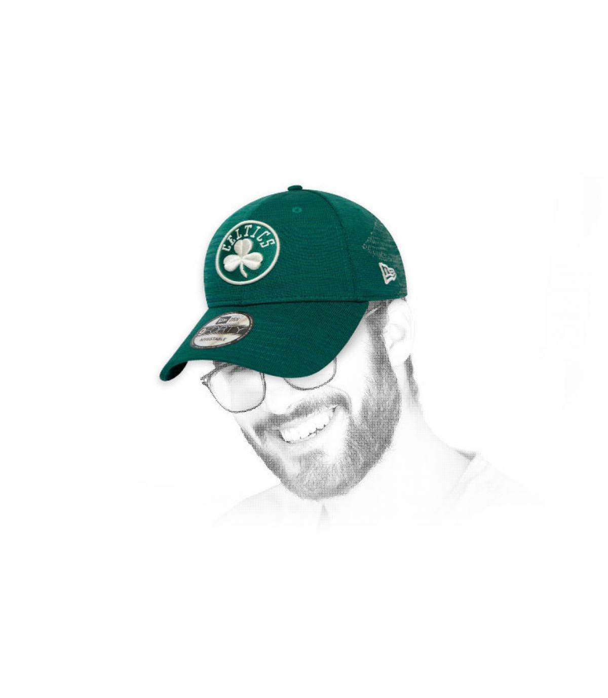 Cappellino verde Celtics
