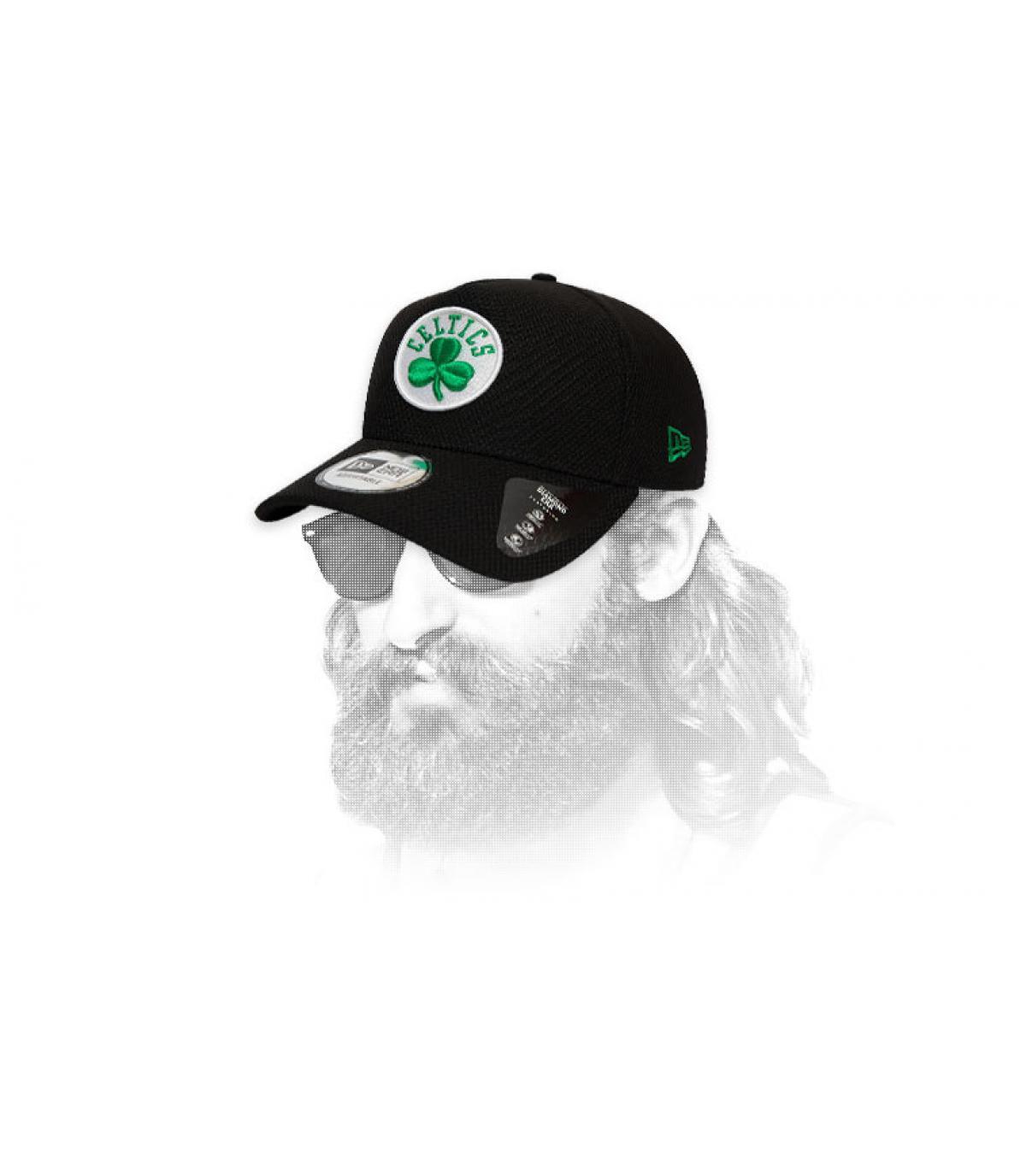 logo cappuccio nero Celtics