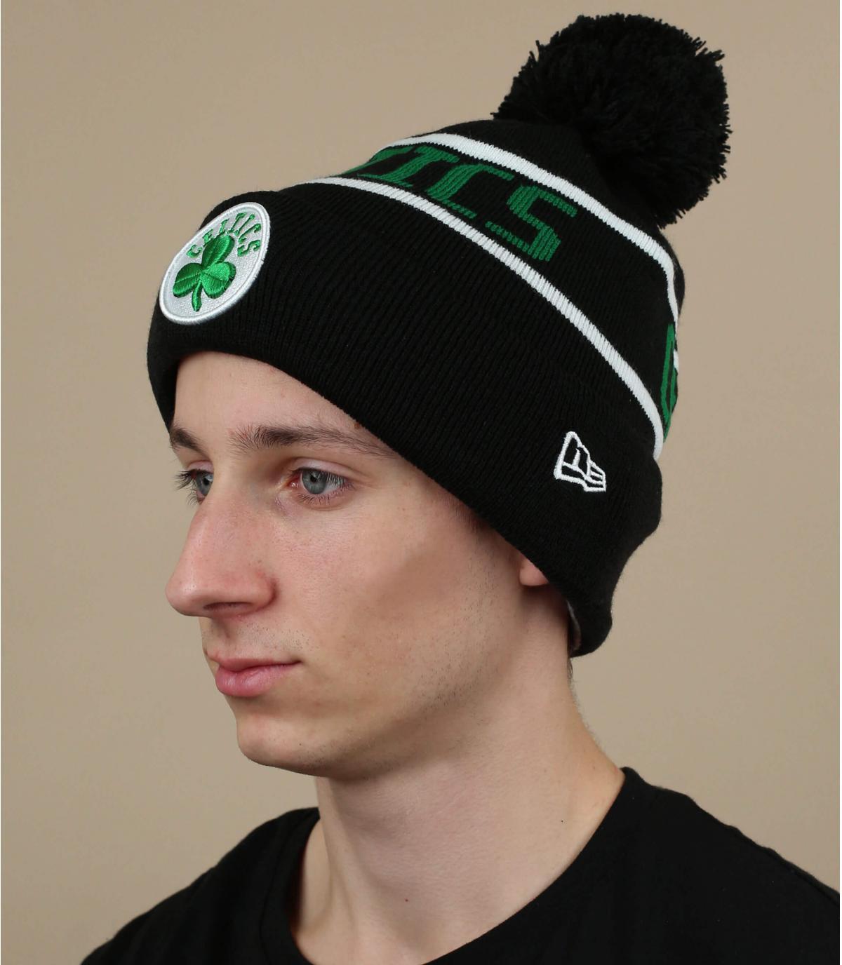 Cappello Celtics nero verde