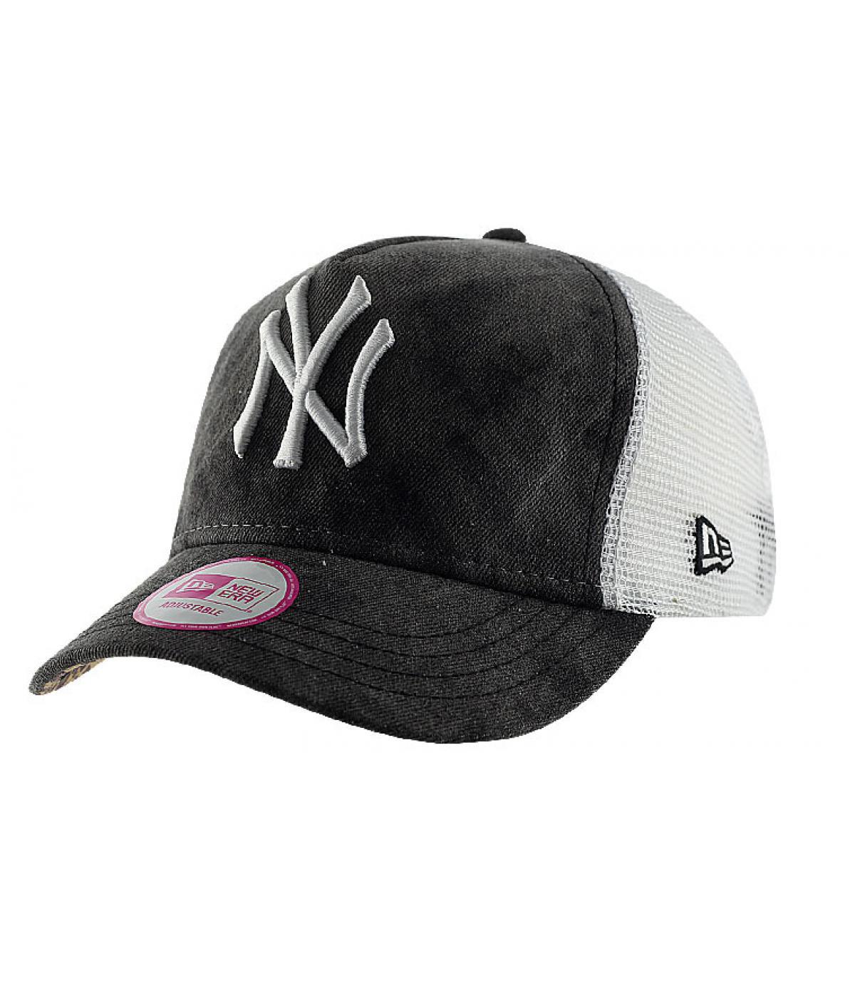 Cappellino NY donna nero
