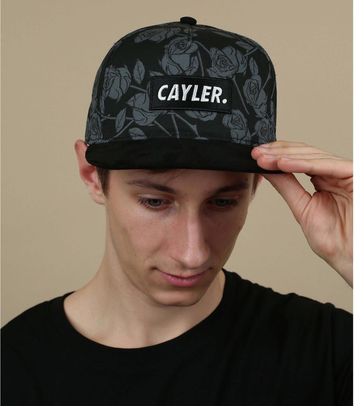 snapback rose noir Cayler