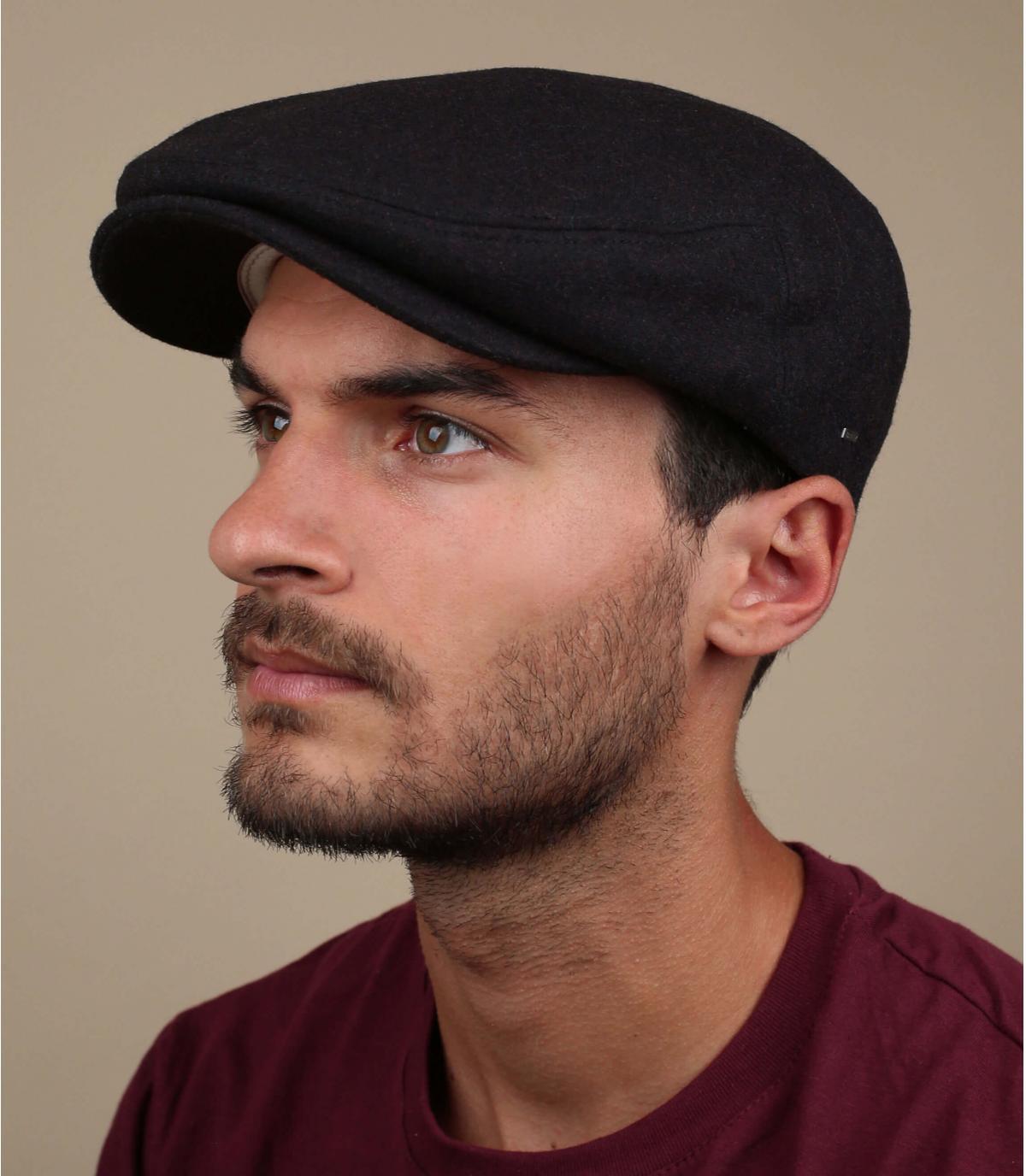lana berretto bordeaux