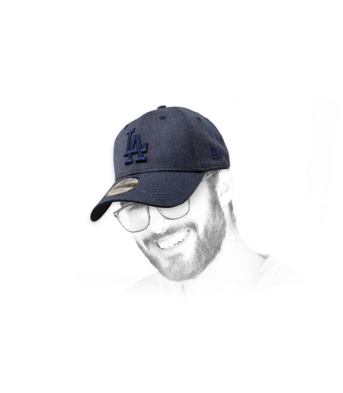 Cappellino blu LA