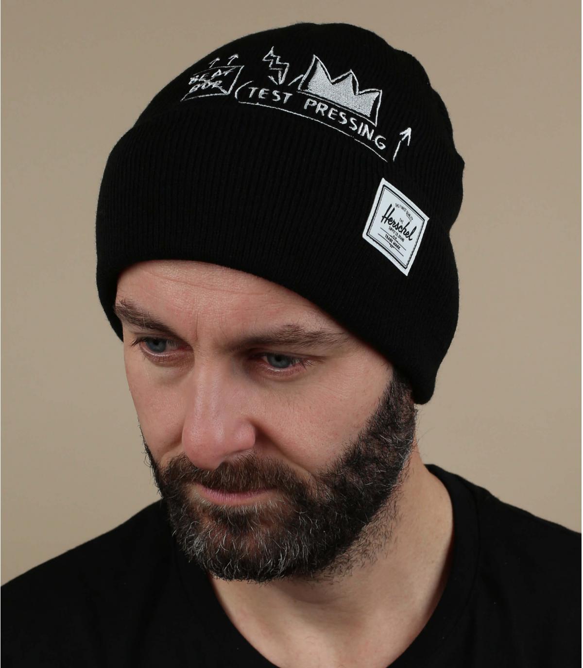 Cappello Basquiat nero Herschel