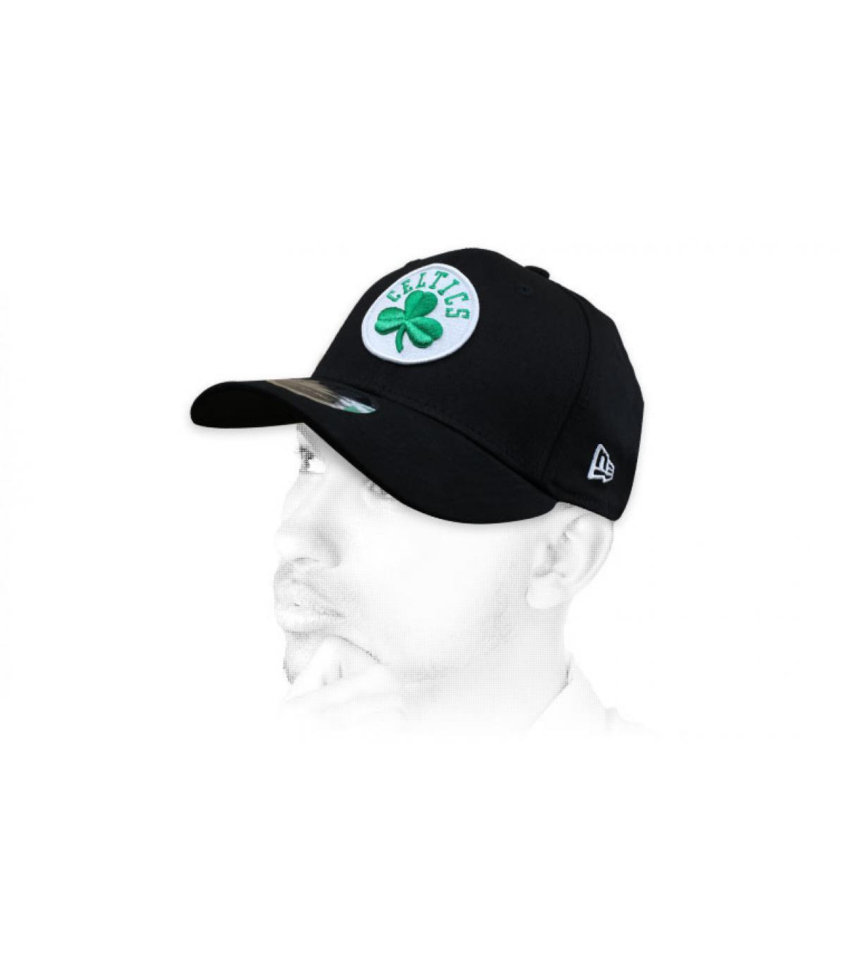 Cappellino Celtics nero