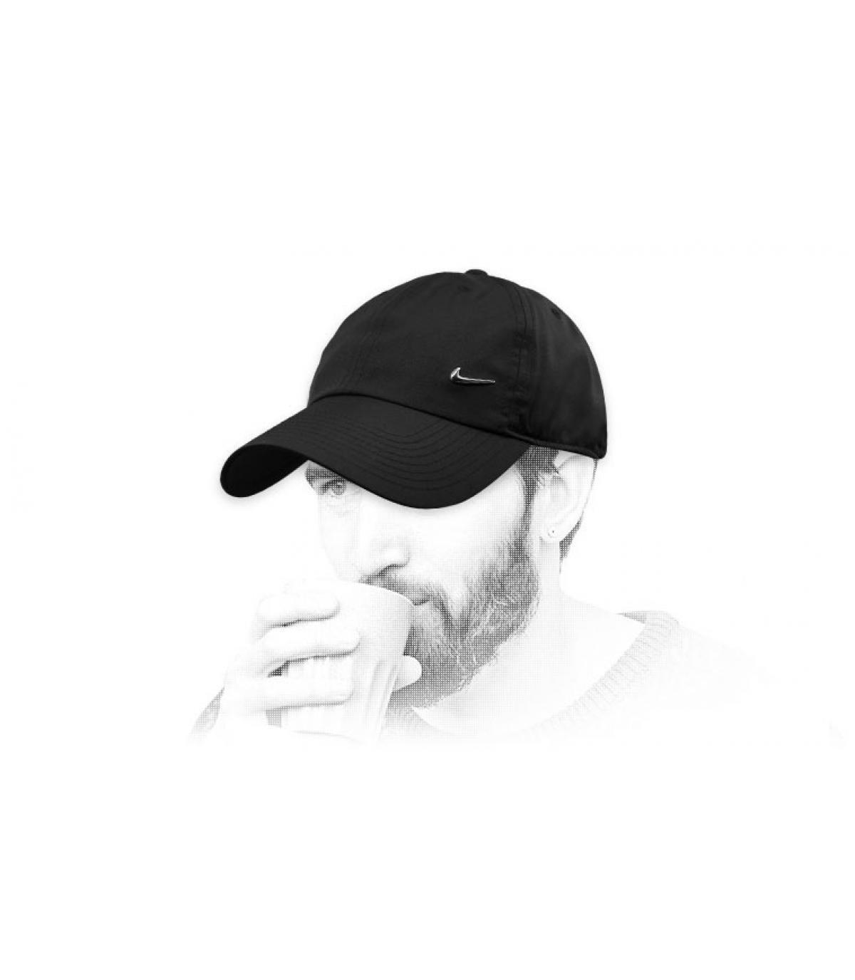berretto Nike nero