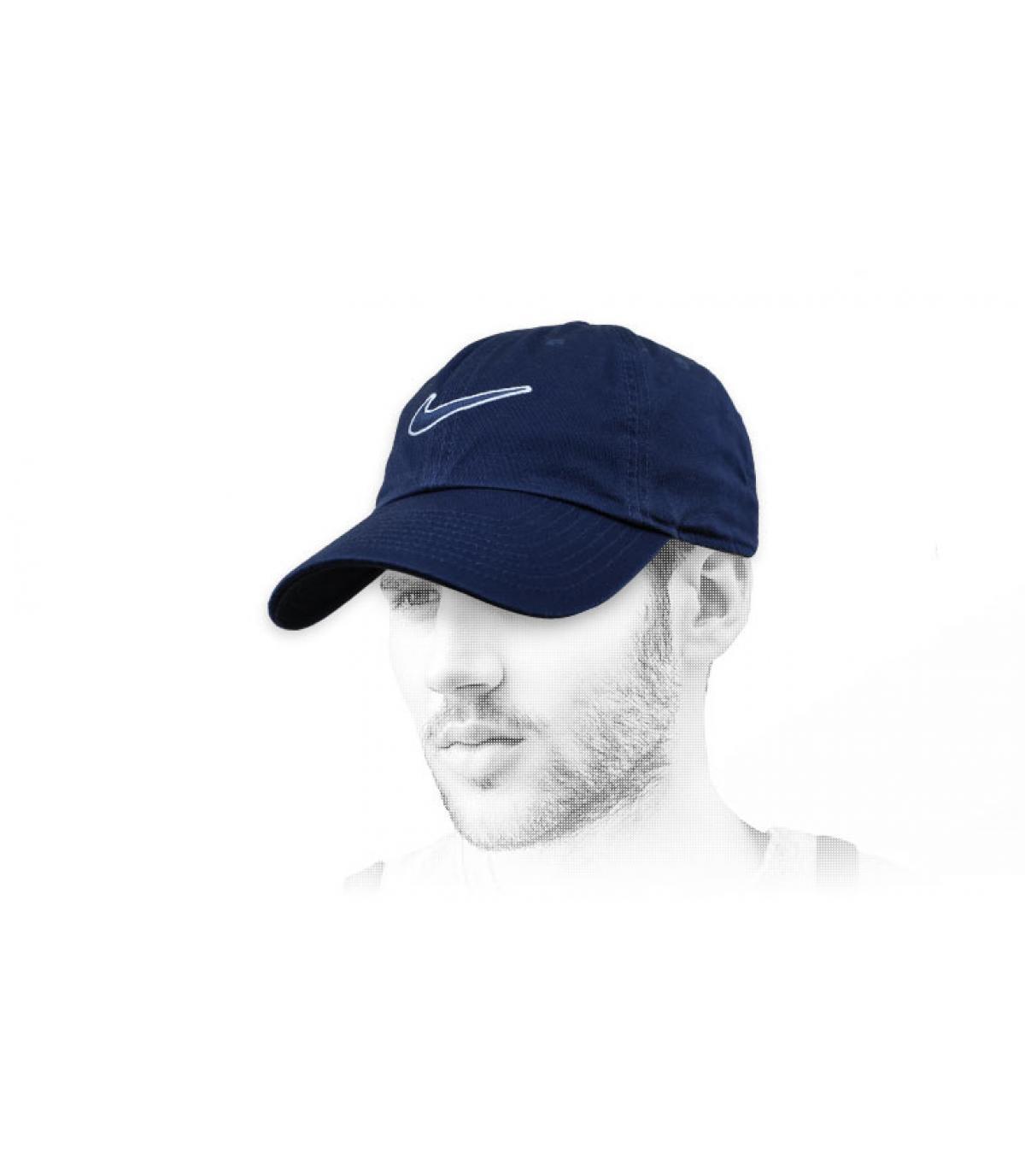 Cappellino Nike nero swoosh