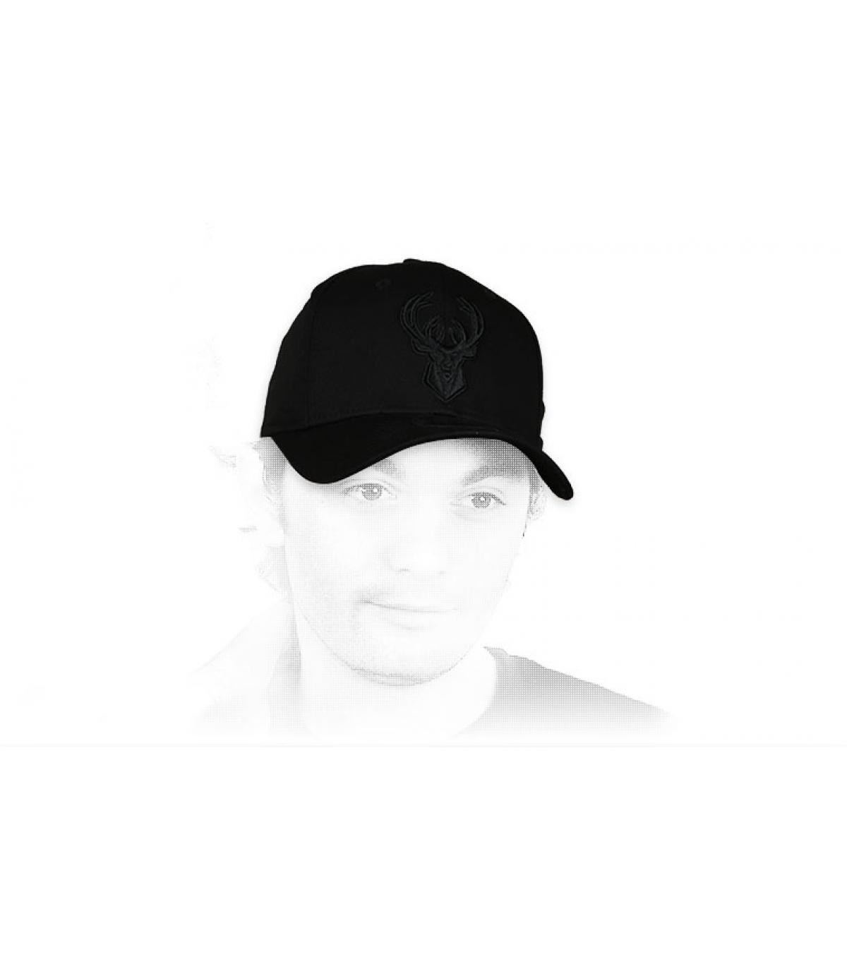 Cappellino Bucks nero