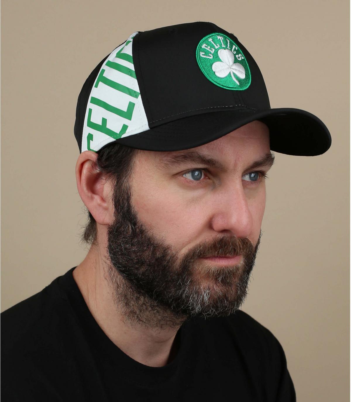 Cappellino nero Celtics