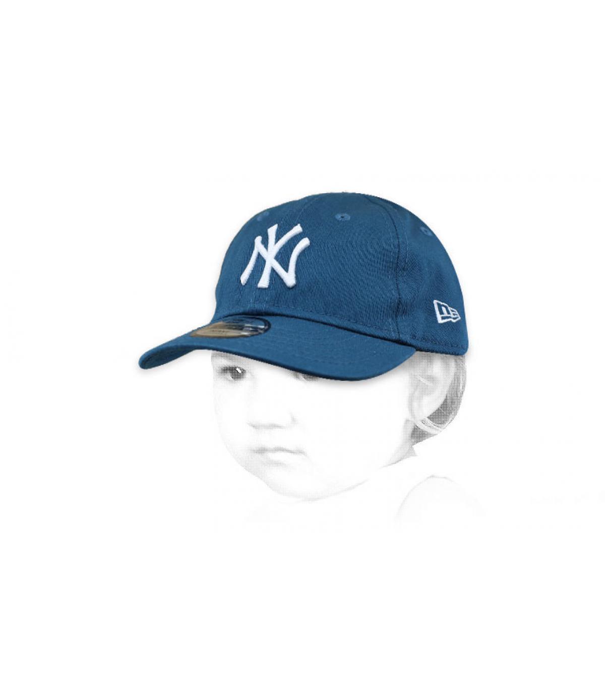 cappellino blu NY