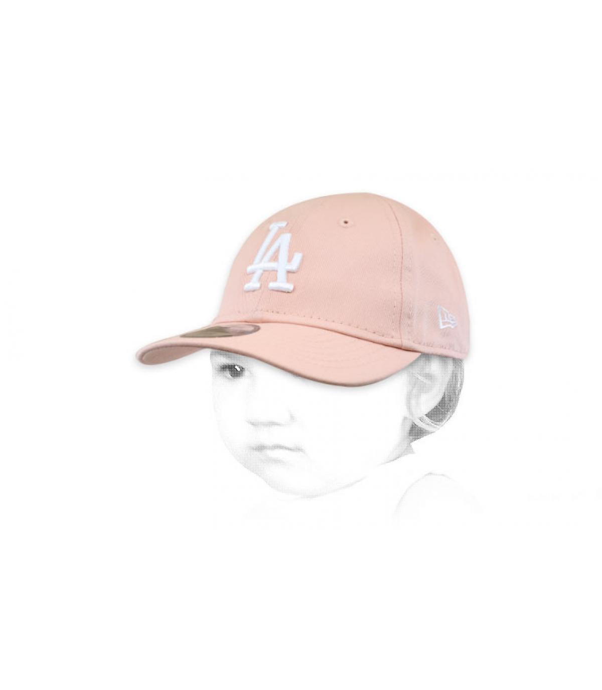 Cappellino rosa LA bambino