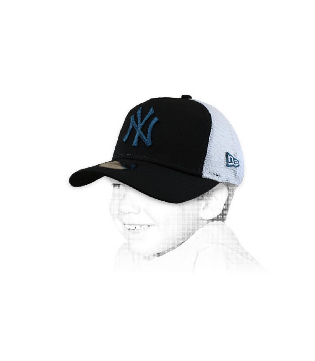 camionista bambino nero NY