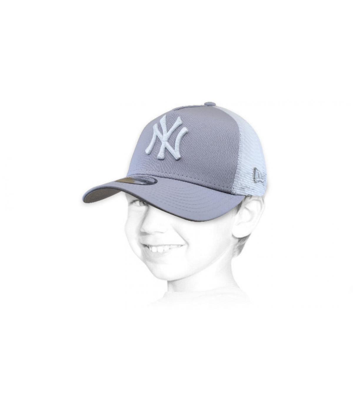 NY camionista bambino grigio