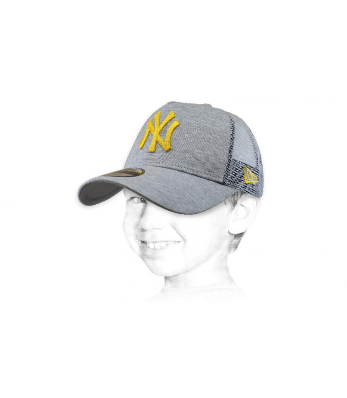 camionista bambino NY grigio giallo