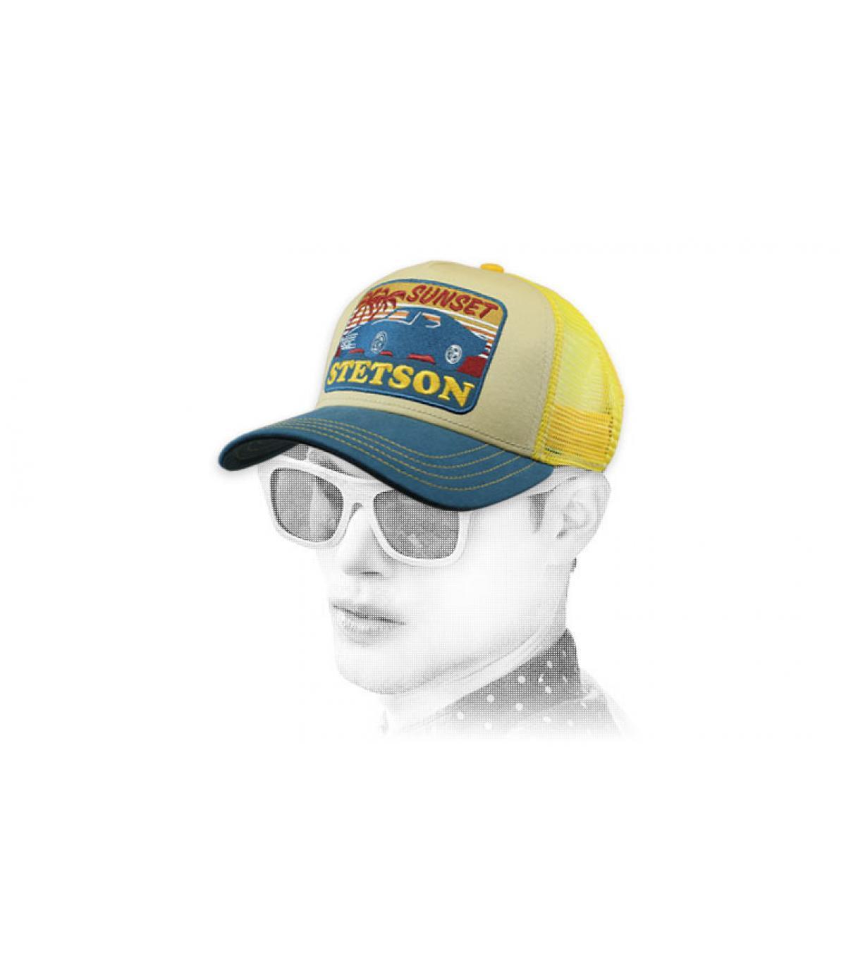 trucker giallo Stetson