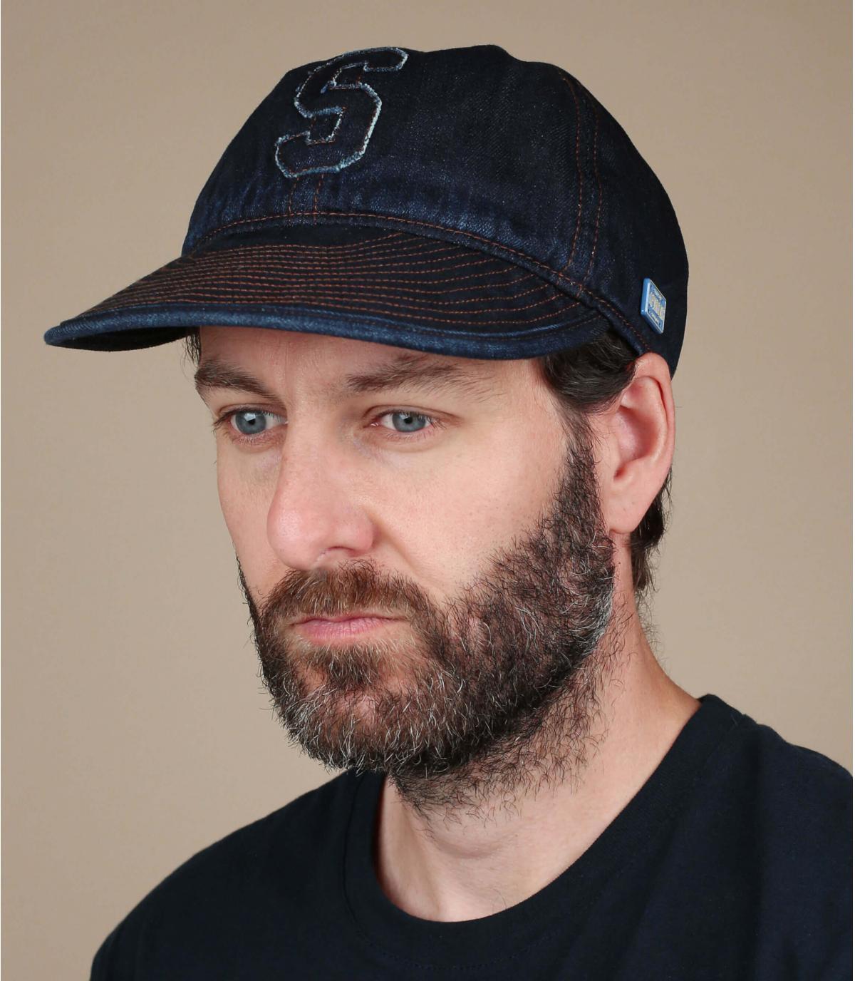 Cappello in denim Stetson