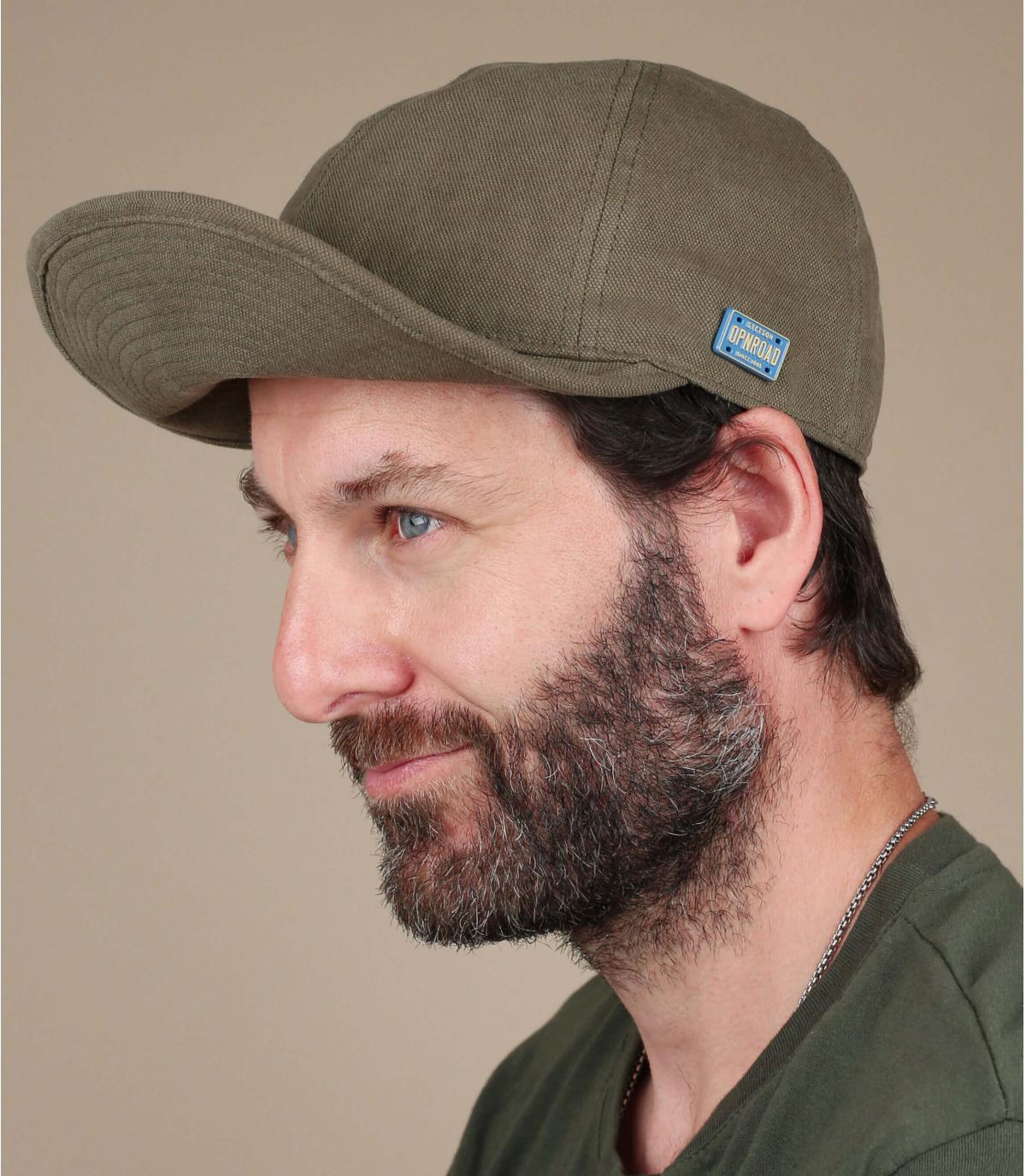 berretto verde stetson