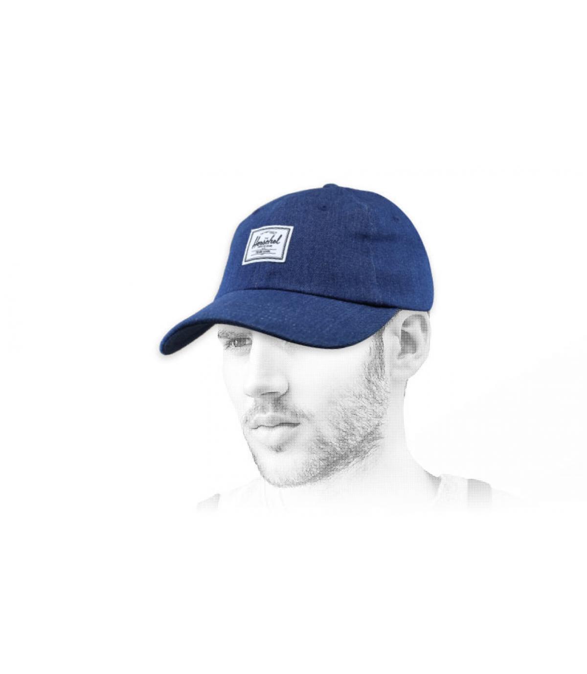 Cappello in denim Herschel