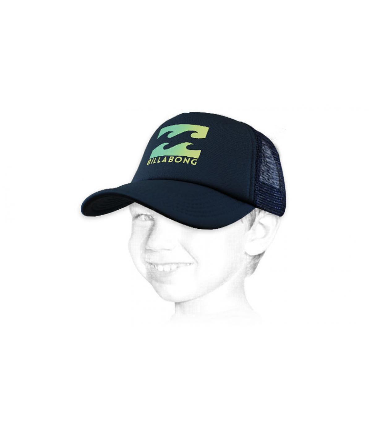 Logo del bambino trucker Billabong